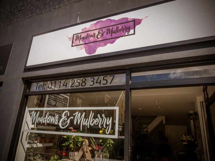 Meadows and Mulberry shop Sheffield